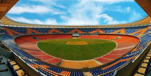 Motera Stadium is all equipped with new decorations and modern facilities for the third test match between India and England