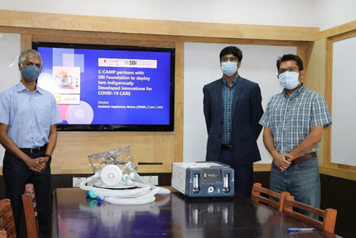 SBI Foundation to help deploy two indigenous innovations for COVID care