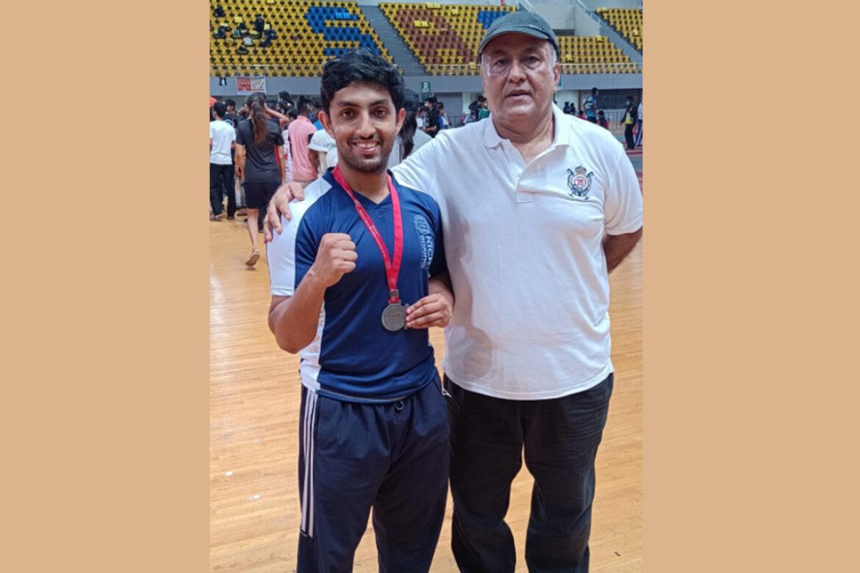 Shyamantak Ganguly – Won 2nd place in National Kickboxing Championship, 2021, Goa