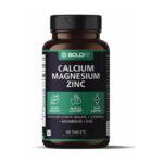 Boldfit calcium magnesium zinc tablets