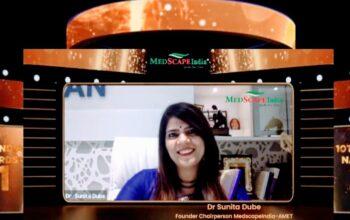 Dr Sunita Dube 10th Medscapeindia National Awards & Save the Girl Child Program